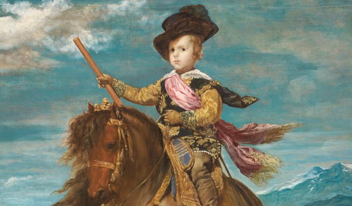 Principe Baltasar Carlos, a caballo