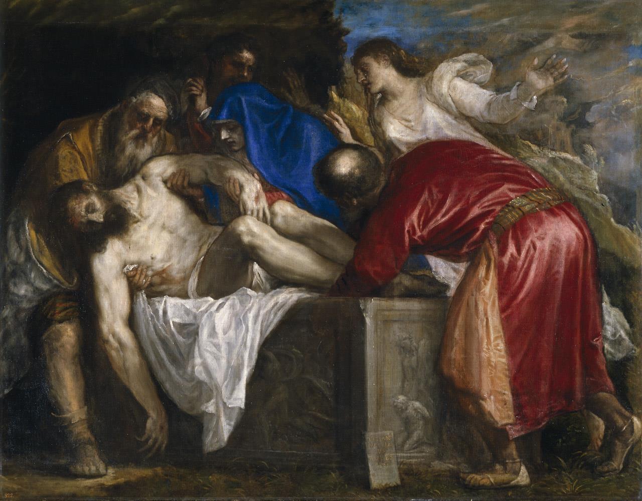 Entierro de Cristo, El [Tiziano]