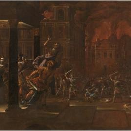 El incendio de Troya