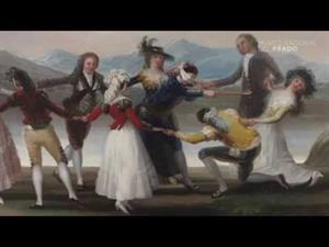 """La técnica de Goya en """"La gallina ciega"""""""