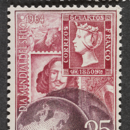 Serie de sellos Día mundial del sello