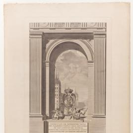 Portada de la Colección de diferentes vistas del Real Monasterio de San Lorenzo de El Escorial