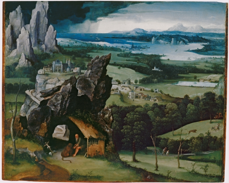 Landscape with Saint Jerome