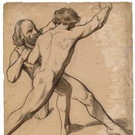 Dos desnudos masculinos