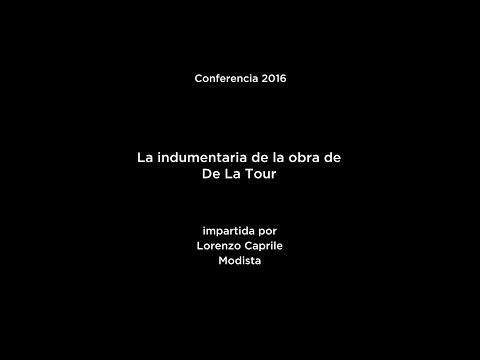 Conferencia: La indumentaria de la obra De La Tour