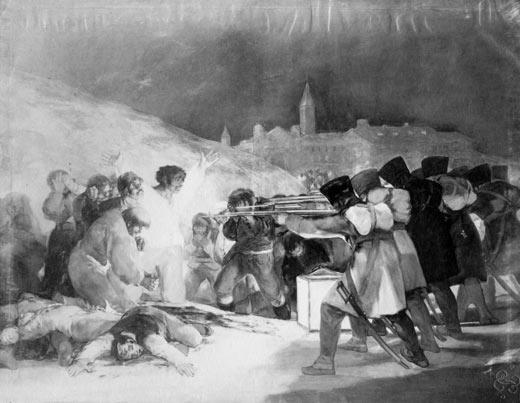 <p><em>The 3rd of May,</em>Francisco de Goya(photography)</p>