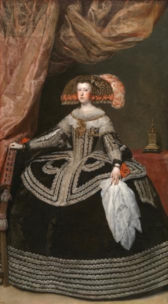 La reina doña Mariana de Austria