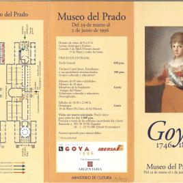 Goya : 1746-1828 / Museo Nacional del Prado.