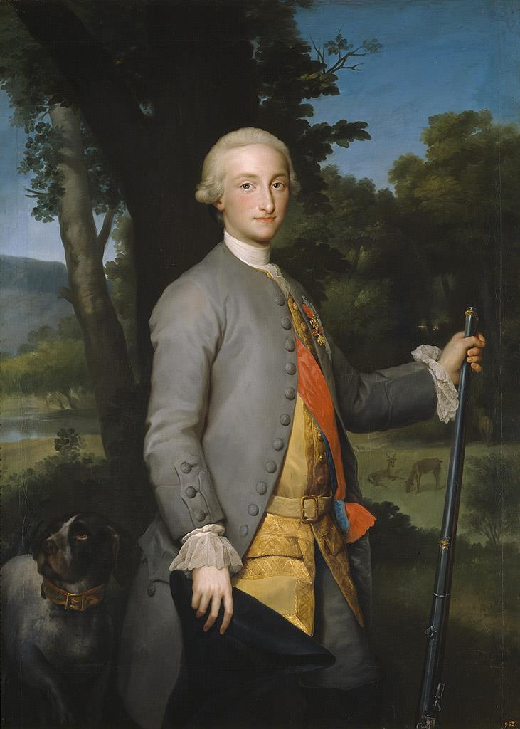 Carlos IV, príncipe de Asturias [Mengs]