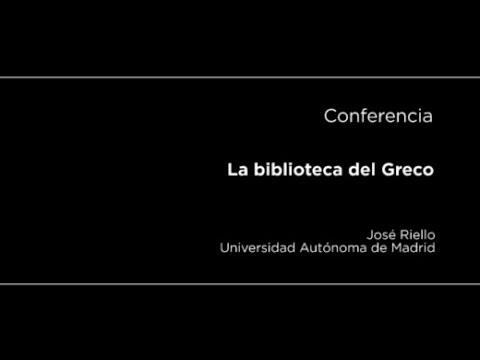 Conferencia: La biblioteca del Greco