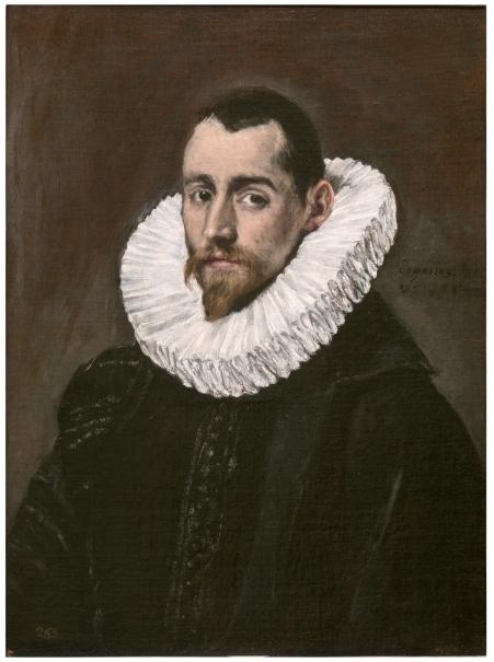Retrato de un caballero joven