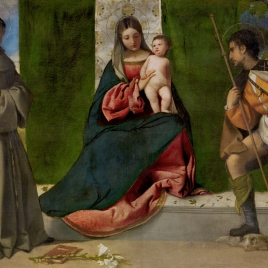 The Virgin and Child between Saint Anthony of Padua and Saint Roch