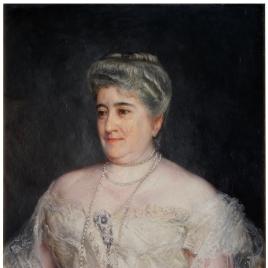 Purificación Fontán, marquesa viuda del Pazo de la Merced