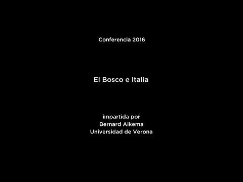 Conferencia: El Bosco e Italia