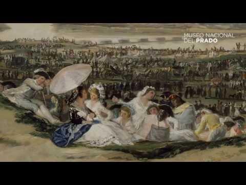 Commented works: The Pradera de San Isidro, Francisco de Goya y Lucientes, (1788), by Enrique Quintana