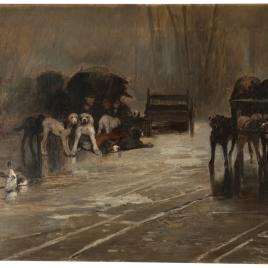 Perros del mercado (Recuerdo de Holanda)