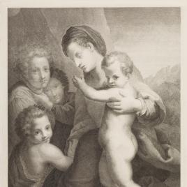 La Virgen con el Niño, San Juan y dos ángeles