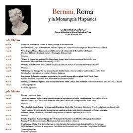 Bernini, Roma y la Monarquía Hispánica [Recurso electrónico] : curso monográfico / Museo Nacional del Prado.