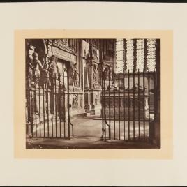 Sepulcros en una capilla de Inglaterra