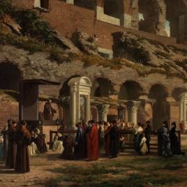 Un viernes en el Coliseo de Roma