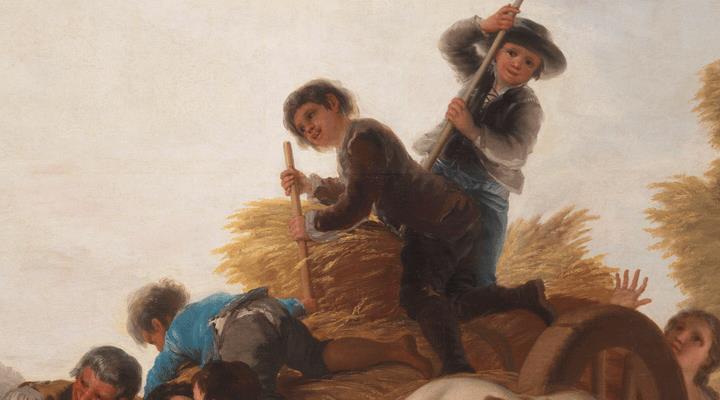El Prado en verano. Más que un oficio