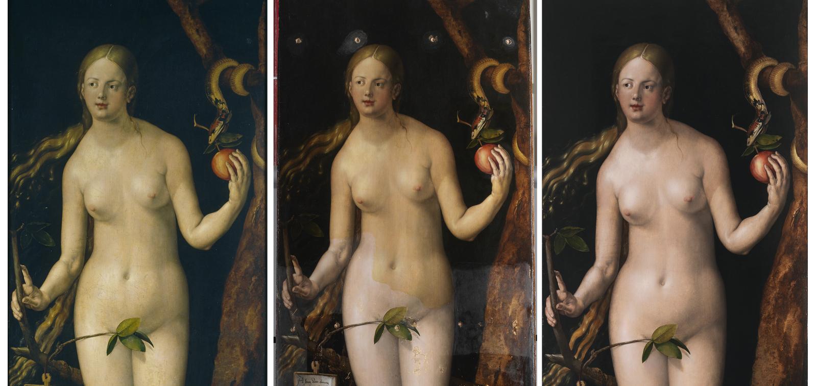 Instalación especial: Adán y Eva de Durero tras su restauración