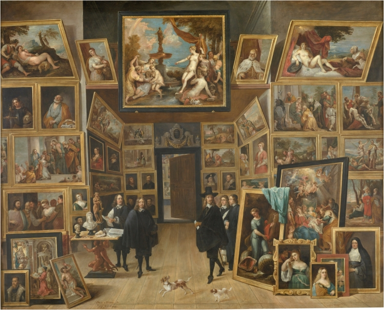 The Archduke Leopold Wilhelm in his Picture Gallery at Brussels