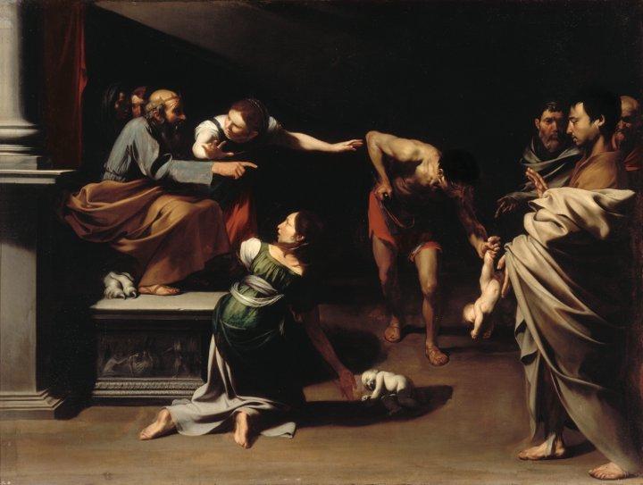 José de Ribera versus The Master of the Judgement of Salomon