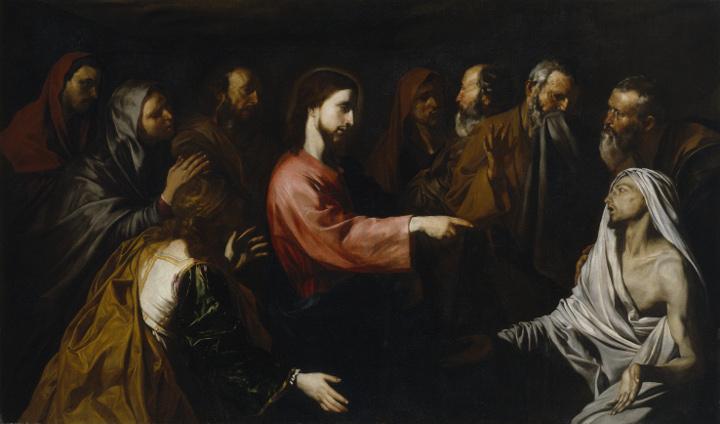 Ribera in Rome: History Paintings