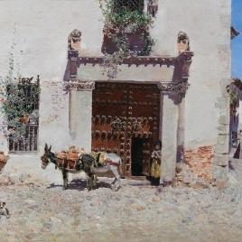 Puerta de una casa en Toledo