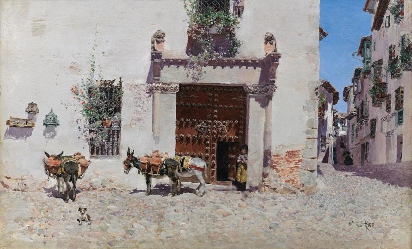 Doorway of a House in Toledo