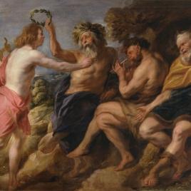 Apolo vencedor de Pan