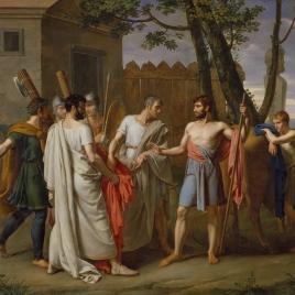Cincinato abandona el arado para dictar leyes a Roma