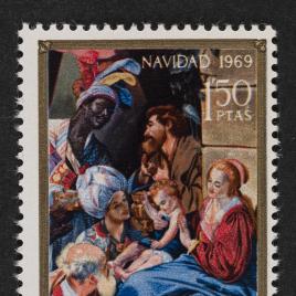 Serie de sellos Navidad