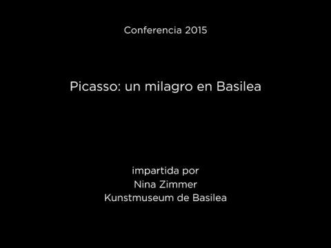 Conferencia: Picasso: Un milagro en Basilea