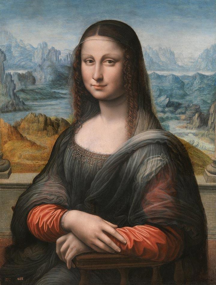 Study of the Prado Museum's copy of La Gioconda