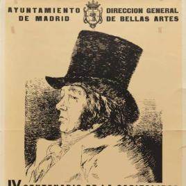 Exposición Francisco de Goya [Material gráfico] : IV Centenario de la capitalidad.
