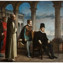 Felipe II presidiendo un Auto de Fe