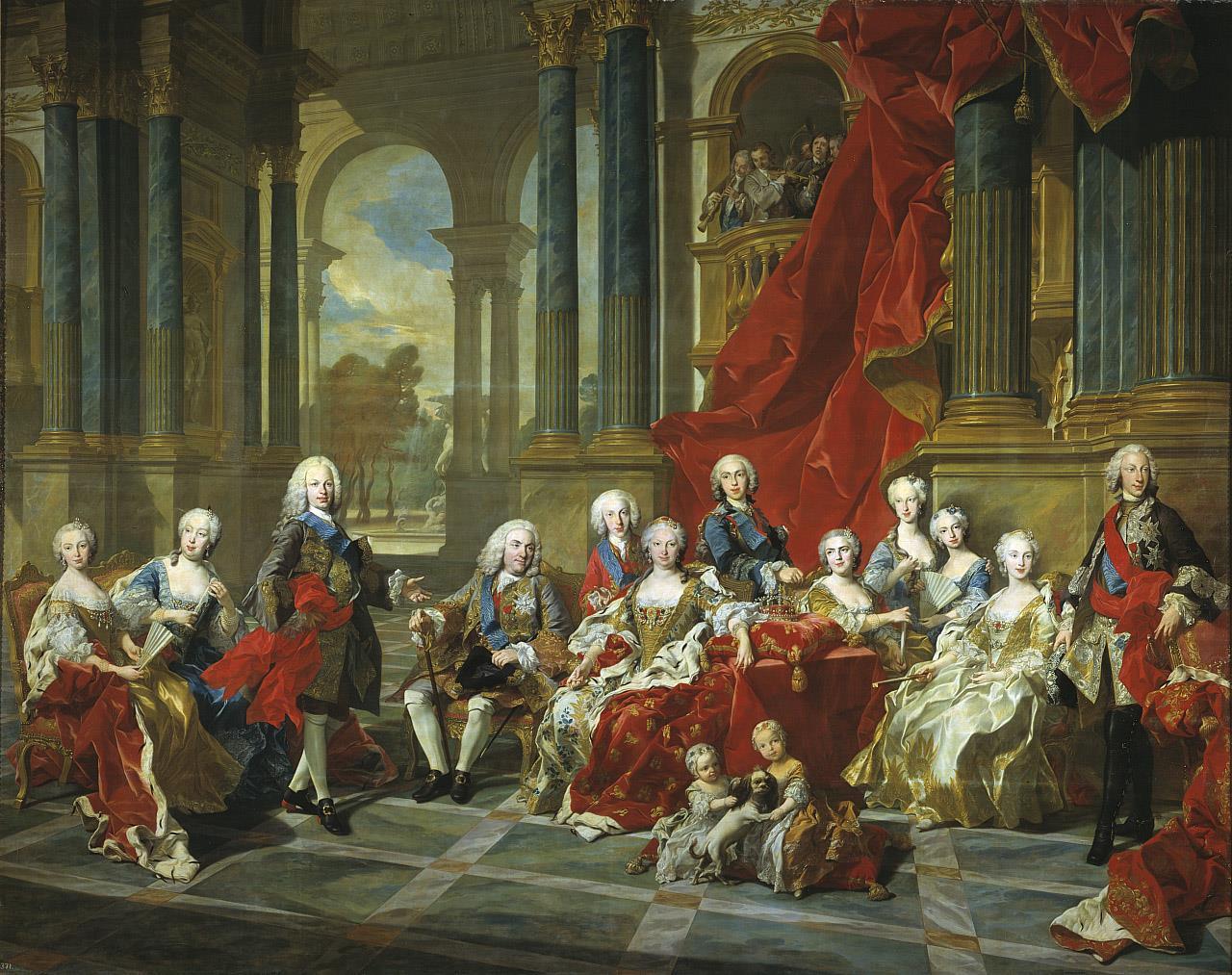 Familia de Felipe V, La [Van Loo]