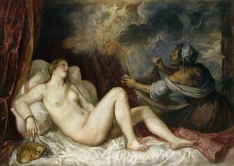 """El desnudo tumbado y las """"poesías"""""""