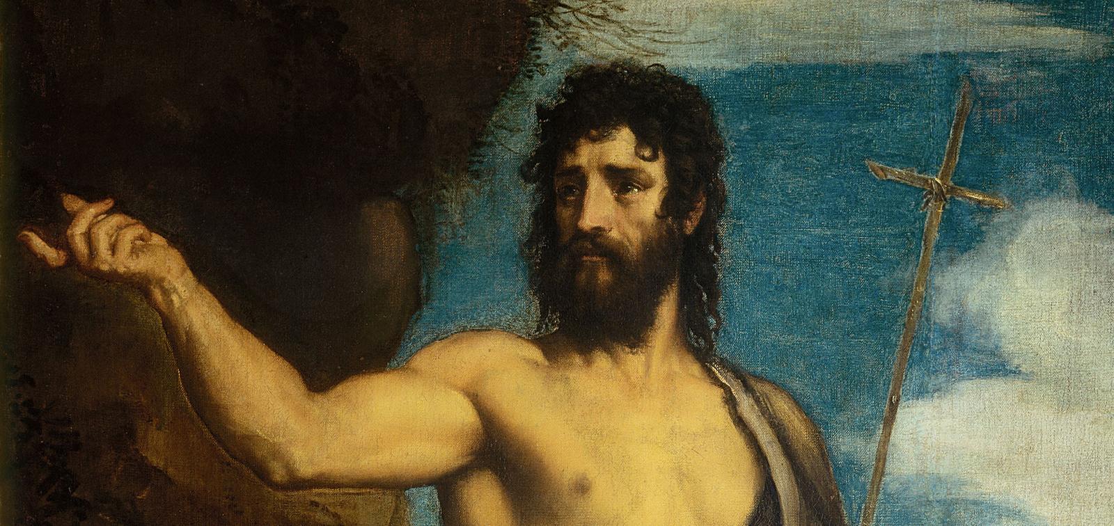 Tiziano. San Juan Bautista