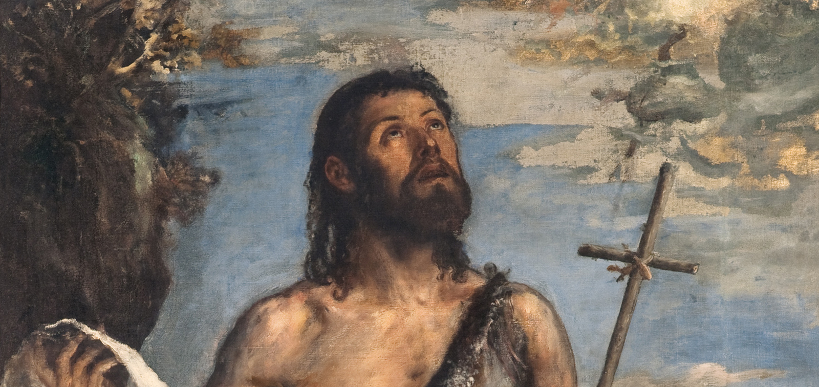 titian saint john the baptist exhibition museo