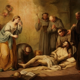 La muerte de san Francisco