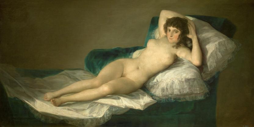 Resultado de imagen de La maja desnuda