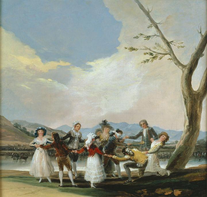 <p>Francisco de Goya,<em>La gallina ciega</em>, boceto, 1788, Legado Fernández Durán, Madrid, Museo del Prado</p>
