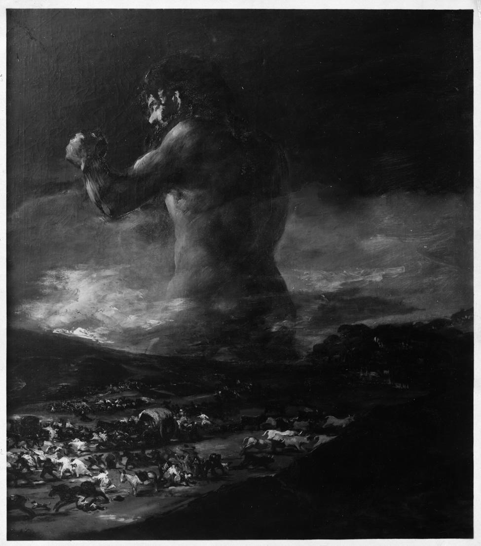 <p><em>El Coloso.</em>Fotografía de la Casa Hauser y Menet, 1931. Archivo del Museo Nacional del Prado</p>