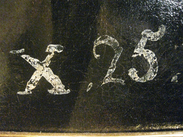 """<p>Francisco de Goya,<em>Lazarillo de Tormes</em>, hacia 1810-1812, (detalle """"X.25"""", correspondiente al Inventario de 1812 en su versión de 1814, de los bienes de Goya), Madrid, colección particular</p>"""