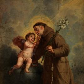 San Antonio de Padua con el Niño Jesús