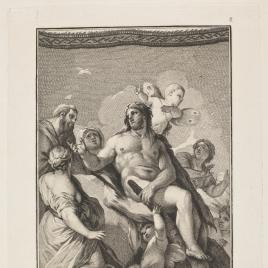 Hércules restituye Alcestes a su marido Admeto