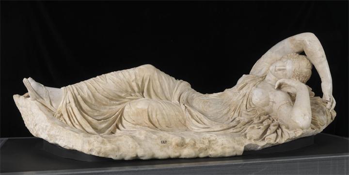 Restauración de Ariadna dormida